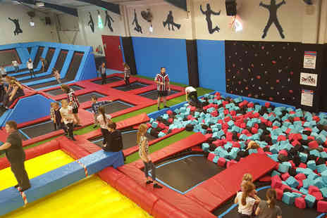 Boing Zone Trampoline Park - One hour trampolining session - Save 44%
