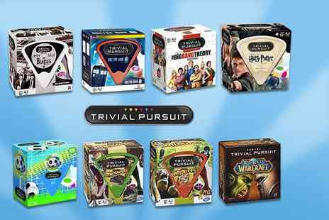 Linen Ideas - Themed Trivial Pursuit board game - Save 56%