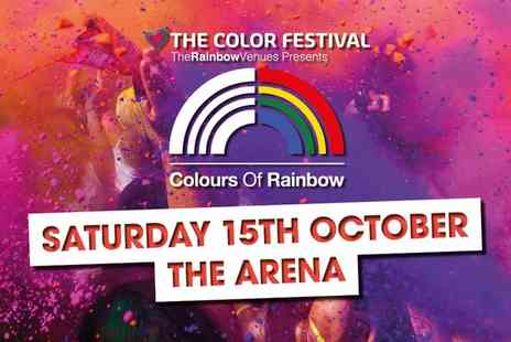 The Colour Festival - The Color Festival On 15 October - Save 0%