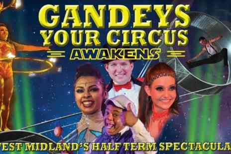 Exchange Events Ltd - Grandstand Ticket to Gandeys Thrill Circus in Brierley Hill on 21 To 26 October - Save 58%