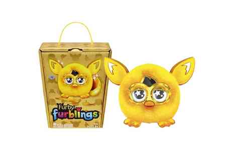 Groupon Goods Global GmbH - Special Edition Gold Furby Furbling in Bling Gold Box - Save 0%