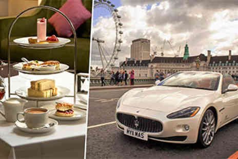 Hilton Green Park - Maserati Cruise and Afternoon Tea for Two - Save 30%