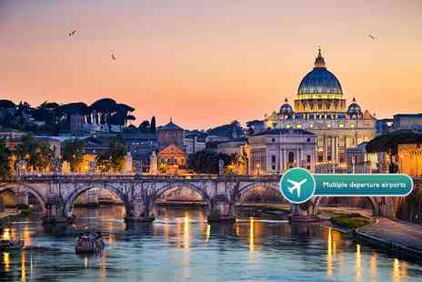 ClearSky Holidays - Two night 4 Star Rome break including flights, or a three night break - Save 53%