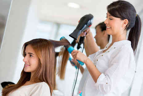 The Heavens Salon - Wash, cut and blow dry with a conditioning treatment - Save 58%
