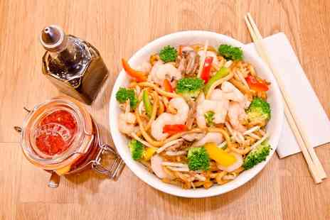 Wok On Fire - Asian Street Food with Drink for Up to Four - Save 54%