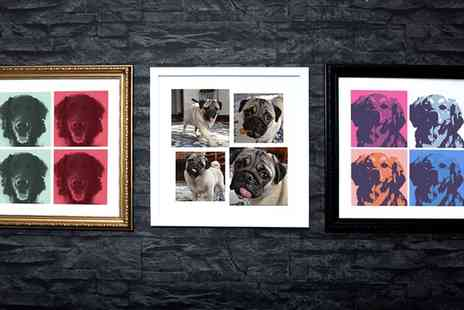MeZoo - Pet Framed Photo Canvas - Save 0%