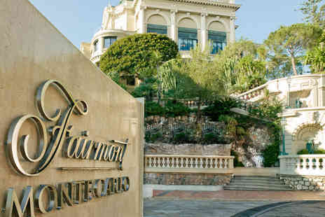 Fairmont Monte Carlo - Four Star 4 nights Stay in a Double Room with view over the Formula 1 race track - Save 39%