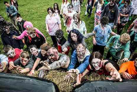 Think Tank - Either a Zombie or a Survivor ticket to the 5K Zombie Dash challenge - Save 68%