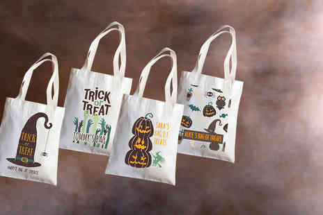 Prints With Feelings - Personalised Halloween bag - Save 67%