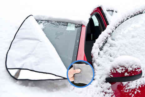 UK Home and Garden Store - Magnetic windscreen cover - Save 71%