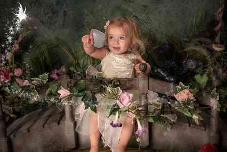Rob Paul Studios - Fairy or Elf Themed Photoshoot for One or Two Kids with Three Prints - Save 94%