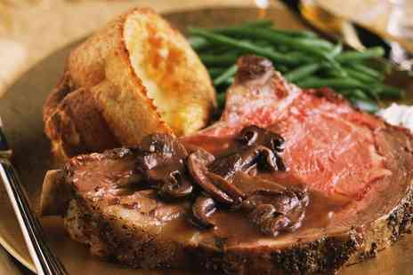 The Mill Bar and Grill - Sunday Roast with a Dessert and Coffee for Two or Four - Save 0%