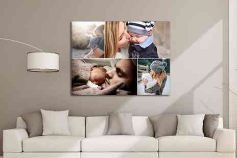 Grangeprint - A2 Large Collage Canvas Print - Save 0%
