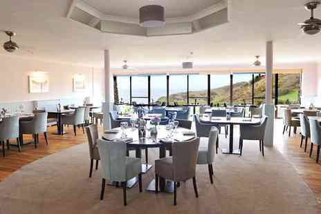 Soar Mill Cove Hotel - Award Winning Seafront Venue Lunch & Swim for 2 - Save 22%