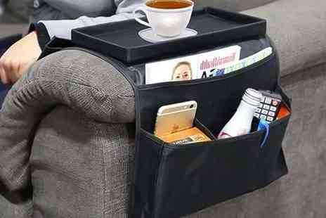 Partikle - Six pocket sofa armrest organiser - Save 83%