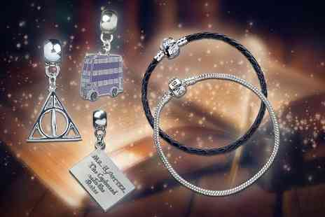 Aspire - Harry Potter slider charm or charm and bracelet - Save 0%