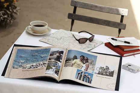 "Harrier LLC - 11"" x 8"" 100 page custom cover hardback personalised photobook - Save 82%"
