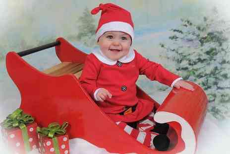 Dave Williams Photography - Little Santa Photoshoot with One Print and Christmas Cards or 15 Prints - Save 0%