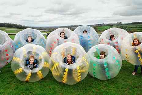 The Future Games - Zorb Wars Experience for Up to Ten People - Save 41%