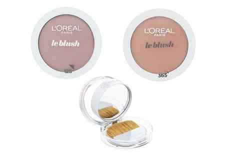 Groupon Goods Global GmbH - One or Two Packs LOreal Paris Le Blush Blushers - Save 0%