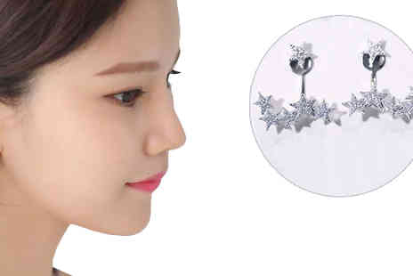 Graboom - Starry Eyed Crystal Drop Earring  - Save 0%