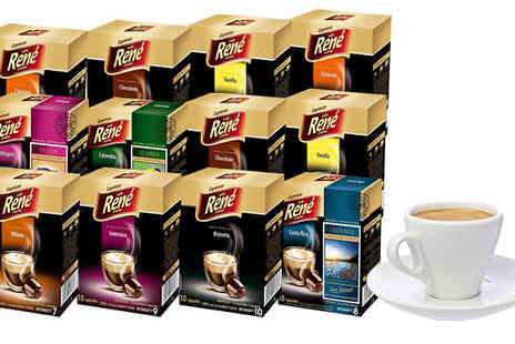 Vie-Healthcare - 60 Rene Nespresso Compatible Coffee Capsules - Save 0%