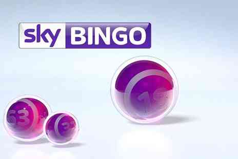Sky Bingo - Sky Bingo credit  try your luck - Save 80%