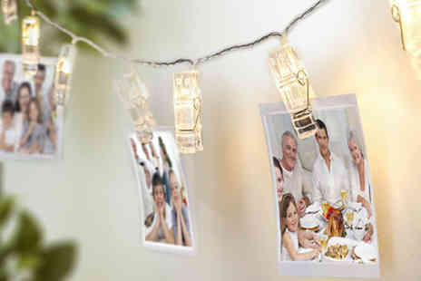 Chimp Electronics - String of LED peg lights - Save 73%