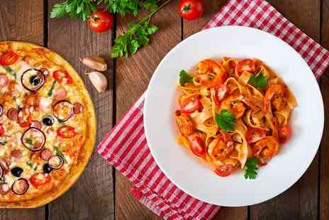 Blushh Bar & Restaurant - Pizza or Pasta for Two or Four - Save 52%