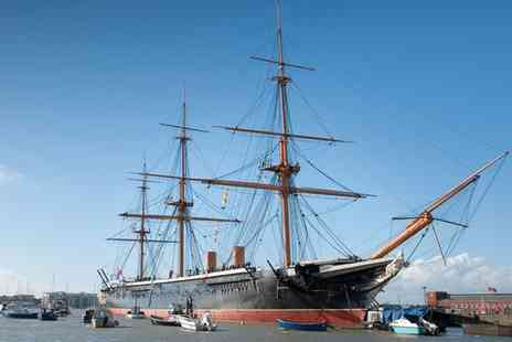 Portsmouth Historic Dockyard - Portsmouth Historic Dockyard All Year Entry for One or a Family of Up to Five - Save 29%