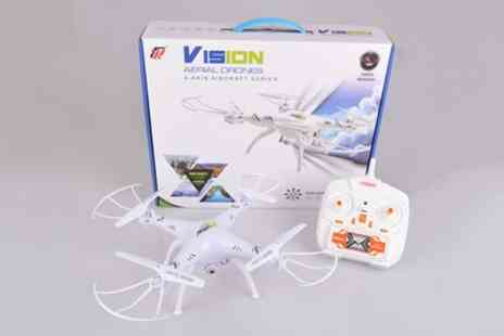 Sama Items - Venus FX Vision Quadcopter Drone With Free Delivery - Save 79%