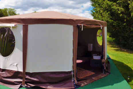 Sleeps Four - Three Night Dorset Clay Shooting Break in a Stargazer Yurt - Save 50%