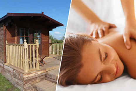 Sleeps Four - Three Night Pamper Cabin Break - Save 50%