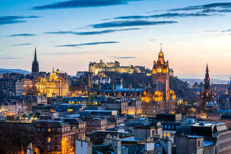 ClearSky Holidays - Two or three night Edinburgh stay with flights, Edinburgh Dungeon tickets or ghost tour - Save 32%
