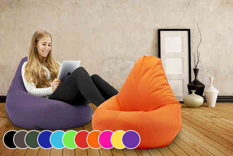 UK Beanbags - A large luxury highback beanbag chair - Save 67%