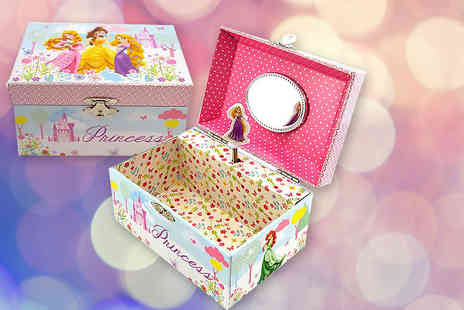 Tooltime - A Disney Princess Rapunzel themed musical jewellery box - Save 33%