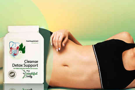 Real Protein - One month supply of detox support cleanse capsules - Save 69%