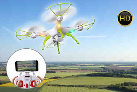 Consumable Direct - HD camera quadcoptor drone - Save 72%