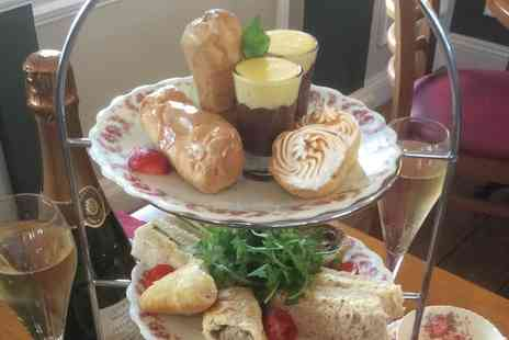Palm Court Pavilion - Afternoon Tea for Two or Four with Optional Prosecco - Save 32%