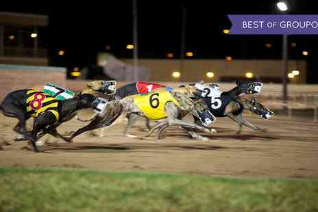 Swindon Greyhounds - Night at the Races with Burger and Beer for Two - Save 73%