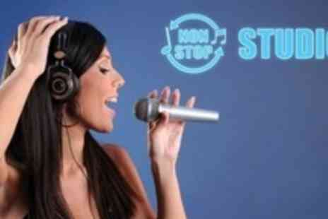 Non Stop Studios - One Hour Studio Recording Session For One or Two With Demo CD - Save 81%