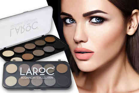 LaRoc - 10 piece eyeshadow palette - Save 62%
