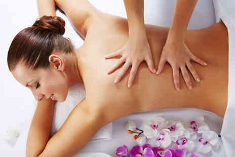 Ladyzone Altrincham - 60 minute pamper package with a back and shoulder massage, essential balance facial and Prosecco - Save 75%