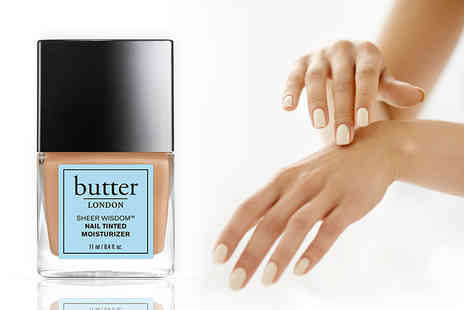The Beauty Store - Butter London tinted nail moisturiser choose from five shades - Save 67%