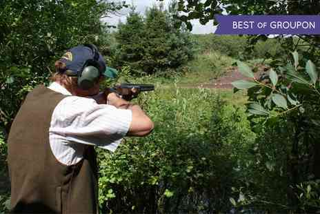 Ian & Gareth Butler Shooting School - Clay Pigeon Shooting Lesson for One or Two - Save 52%