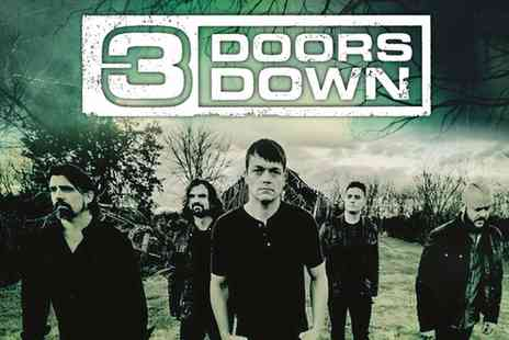 3 Doors Down Live - Three Doors Down Live on Two To Six November - Save 0%