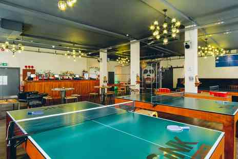 Sink Pong - One or Two Hour Table Time with Beer, Mojito or Prosecco - Save 40%