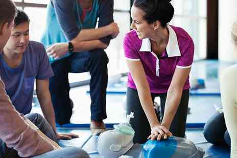 One Day Courses - One Day First Aid or Two Day Paediatric First Aid Course with Certificate - Save 72%