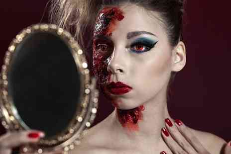 SS Makeup Academy - Three Hour SFX Halloween Make Up Class with Refreshments - Save 36%