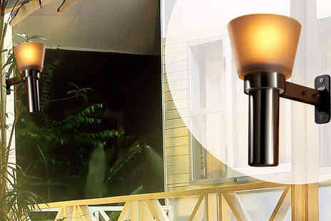 A2BShopping - Garden Wall Mount Oil Lamp 1 or 2 - Save 70%